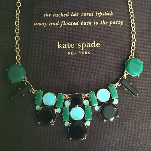 Kate Spade New York Mod Cluster Necklace NEW. ♠️